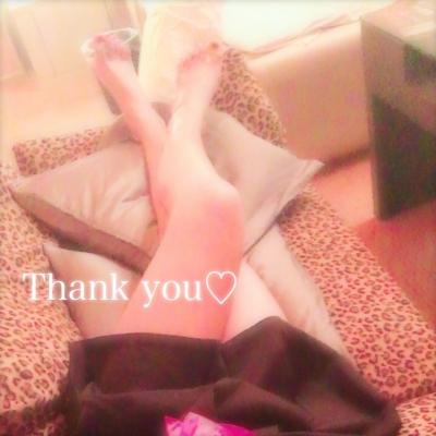 広島デリヘル風俗 BlueSapphire(ブルーサファイア)写メ日記:No.2 ももの投稿「Thank you٩(*´◒`*)۶♡」