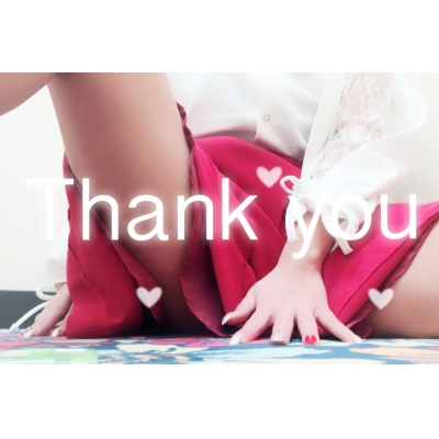 広島デリヘル風俗 BlueSapphire(ブルーサファイア)写メ日記:No.1 ももの投稿「Thank you♡」