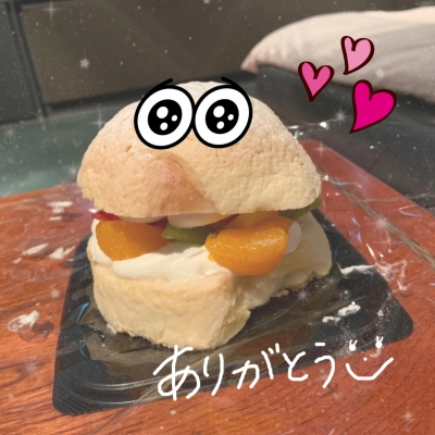 広島デリヘル風俗 BlueSapphire(ブルーサファイア)写メ日記:New なみの投稿「ケーキのお礼❤」